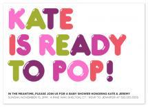 Ready to Pop by Kristy Wlaz