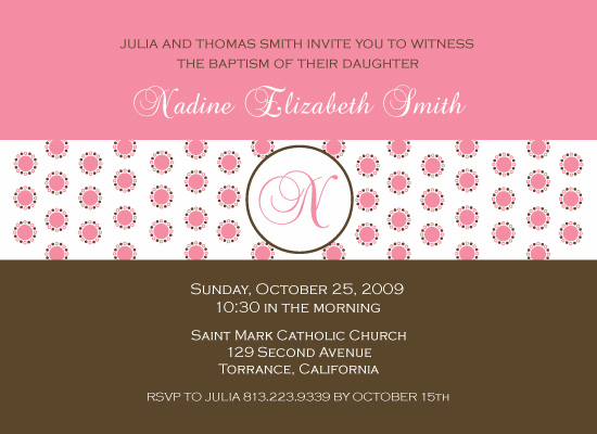 invitations - Strawberry Truffle by Maxeli Designs