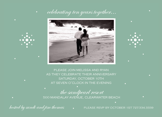 party invitations - Dreamy Sage by Maxeli Designs