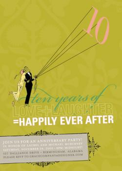 LOVE+LAUGHTER=HAPPILY EVER AFTER