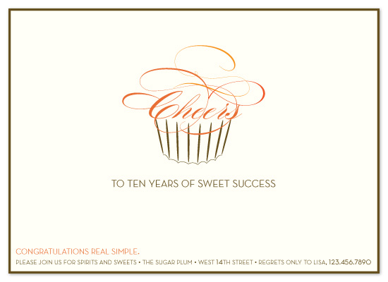 party invitations - sweet success by sweet street gals