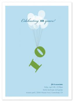celebrating balloons