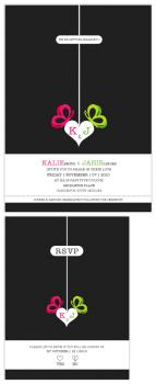 BEAUTIFLY LOVE Wedding Invitations