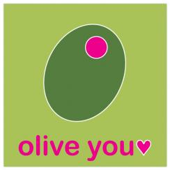 olive you Valentine's Day