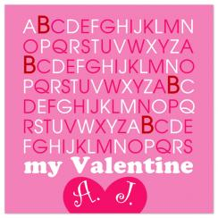 B My Valentine Valentine's Day