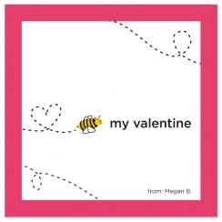 Bee My Valentine Valentine's Day