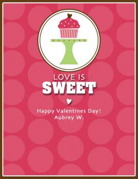 Love is Sweet Valentine's Day