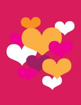 Hearts Valentine's Day