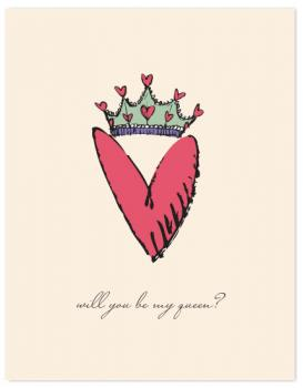 Queen of Hearts Valentine's Day