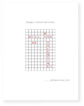 crossword Valentine's Day