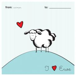 I Love Ewe Valentine's Day