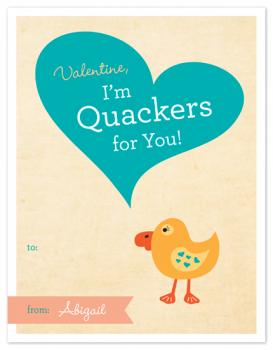 Quackers Valentine's Day