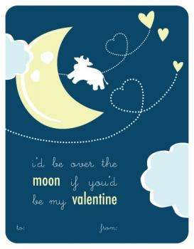 Over the Moon Valentine's Day