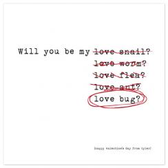 Bugs of Love Valentine's Day