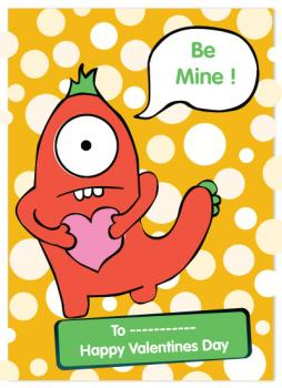 Monster be mine Valentine's Day