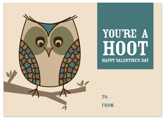 valentine's day - You're A Hoot by Megan Bryan