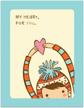 My Heart, For You.