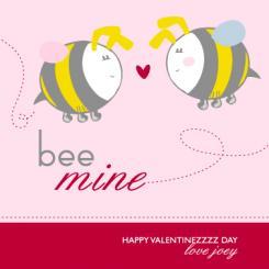 Bee Mine Valentine's Day