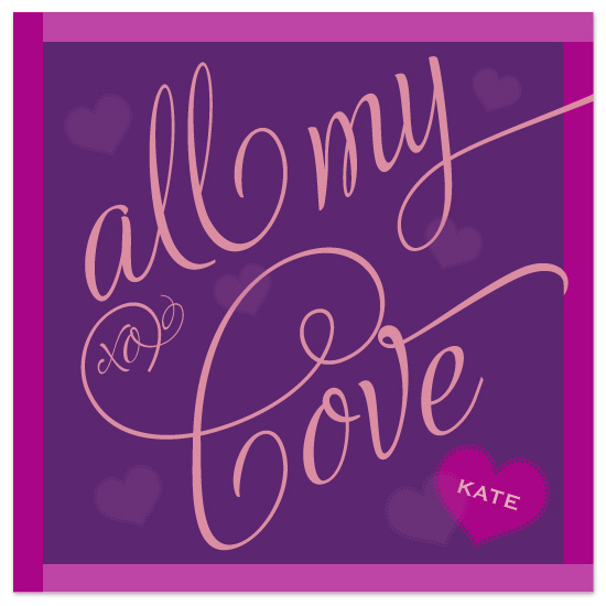 valentine's day - All My Love by Sandy Pons