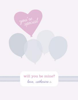 You're special, will you be mine? Valentine's Day