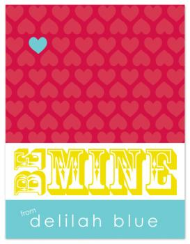 Be Mine {from Delilah Blue} Valentine's Day