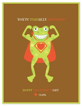 toadally awesome Valentine's Day