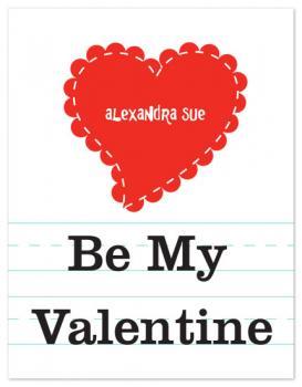 Good Penmanship Valentine