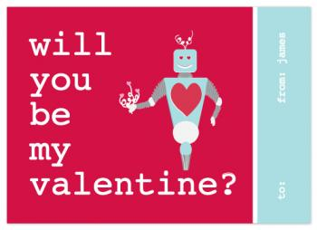 Robot Love Valentine's Day