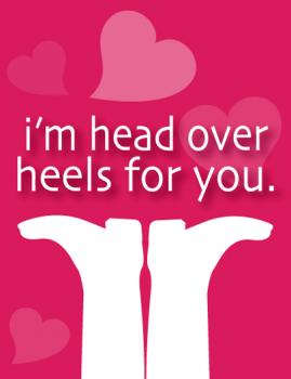 Head Over Heels Valentine's Day
