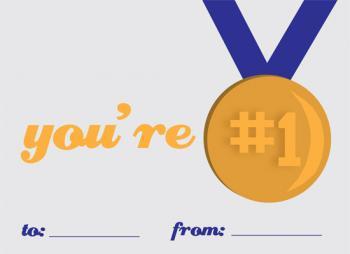 Gold Medal Winner Valentine's Day