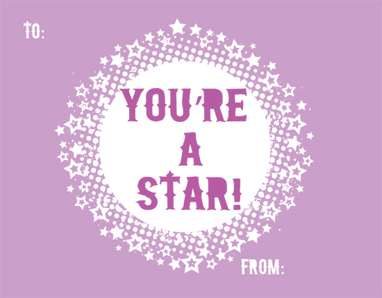 valentine's day - You're a Star to Me by Little Wex Designs