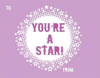 You're a Star to Me Valentine's Day