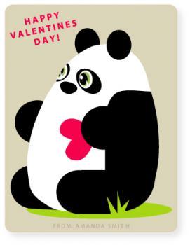 Panda  Valentine's Day