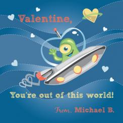 Alien Love Valentine's Day