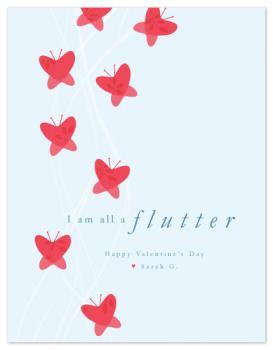 flutter Valentine's Day