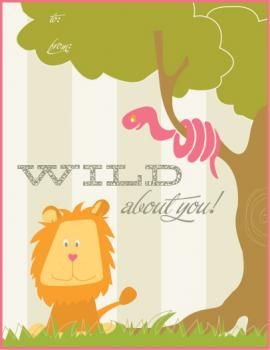 wild about you Valentine's Day
