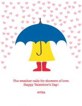 Weather Calls for Love Valentine's Day