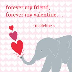 Forever your friend Valentine's Day