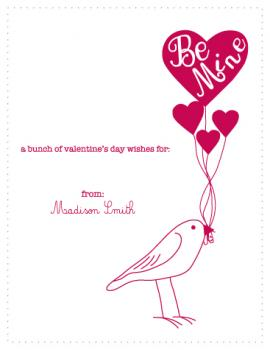 A bunch of Valentine's Day wishes