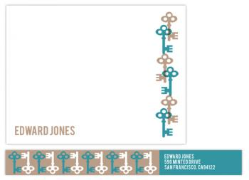 Key Note Personal Stationery