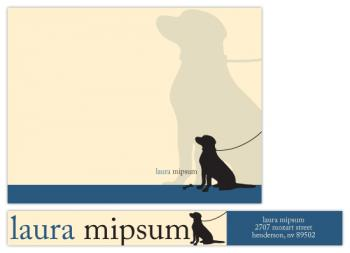 Dog Lover Personal Stationery