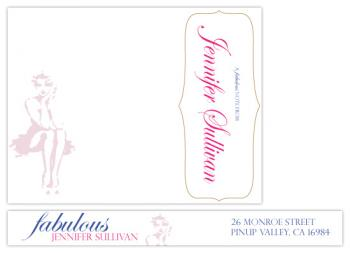 a fabulous note Personal Stationery
