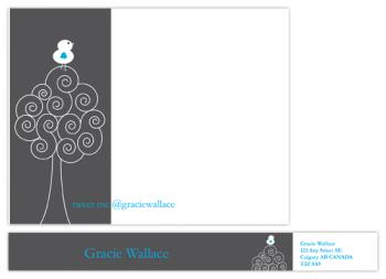 Tweet Personal Stationery