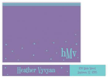 Among the Stars Personal Stationery