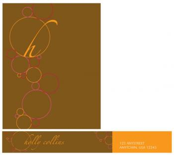 Fizzy Bubbles Personal Stationery