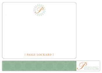 circle of friends Personal Stationery