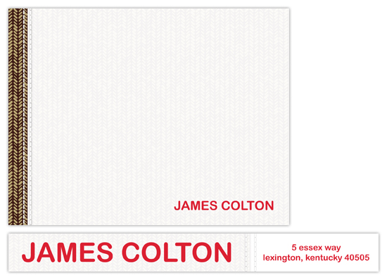 Favorite Jacket Personal Stationery