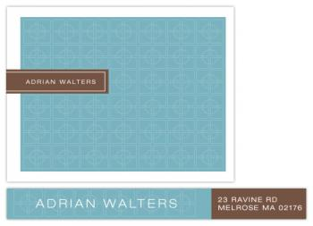 deco grid full Personal Stationery