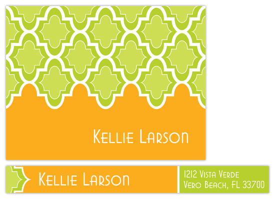 Citrus Grove Personal Stationery