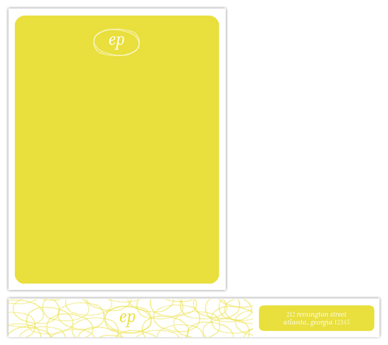 personal stationery - Lumiere by beth perry DESIGN